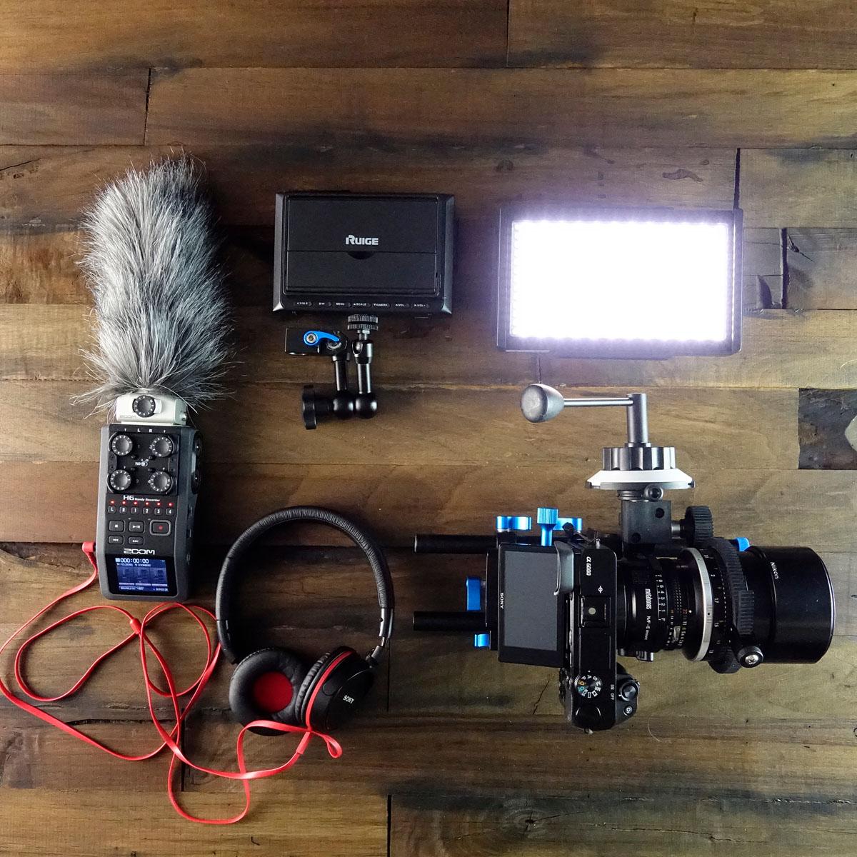 Σετ συνέντευξης για δημιουργία βίντεο