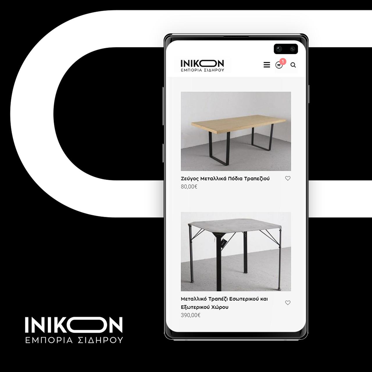 Κατασκευή e-shop Inikon